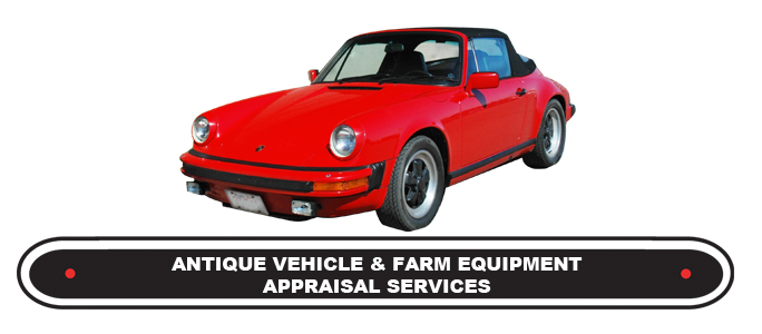 Antique Vehicle & Farm Equipment Appraisal Services