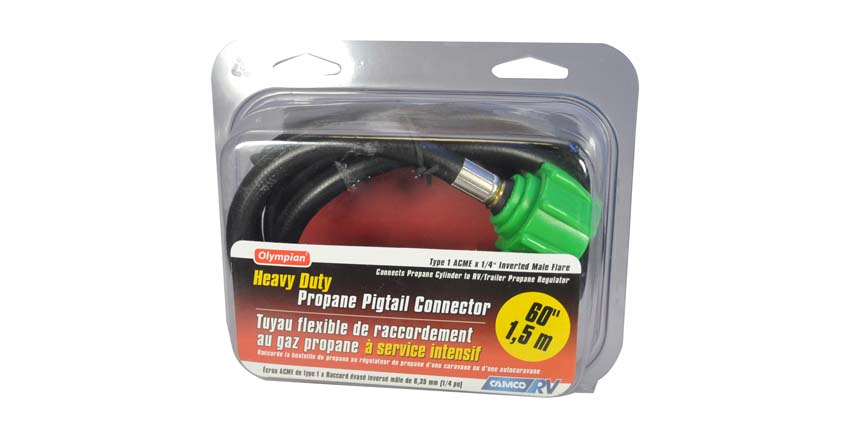 RV Propane Pigtail Connector