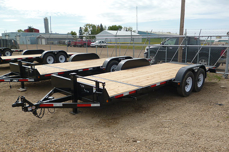 3/4 Tilt Equipment and Construction Trailer