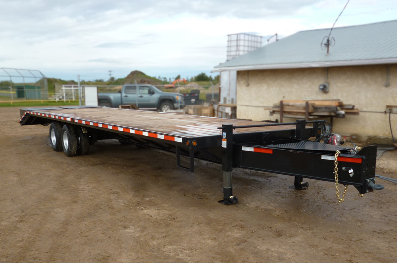 Dually Pintle Flatdeck Trailers