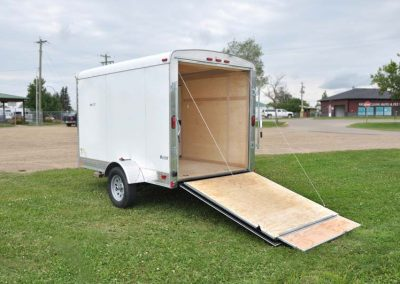 Cargo Mate Blazer – Single Axle – 5' & 6' Wide