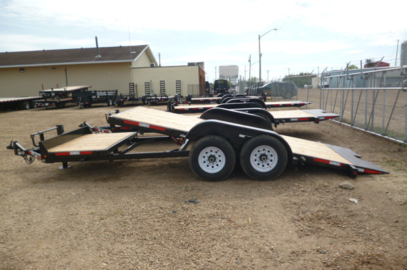 3/4- Tilt Equipment & Construction Trailers