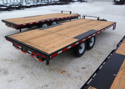 Deck-Over Wheels Construction Flatdeck (24′ – 30′)