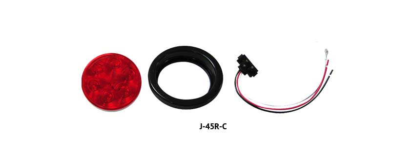 LED Tail Lights with Installation Kit