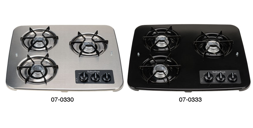 Suburban 2983A Glass Cooktop Cover