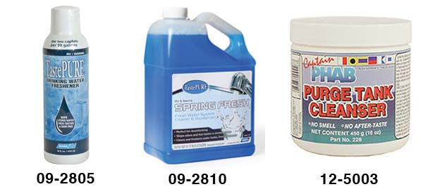 Fresh Water Tank Chemicals
