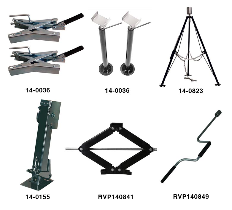 rv stabilizers / jacks / levelling