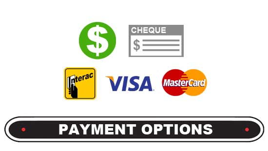 Trailer Canada Payment Options